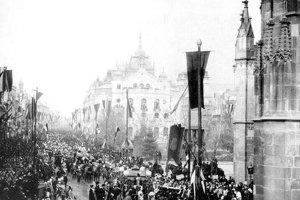 Posledná triumfálna cesta Rákocziho: Natáčalo sa v Budapešti a v Košiciach.