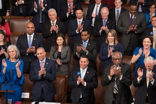 Kongres zasadal v novom zložení.