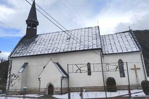 Kostol v Jaklovciach.