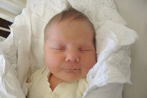 Soňa Gáfriková (3480 g, 51 cm) sa narodila 1. januára Michaele a Jánovi z Bánoviec nad Bebravou.