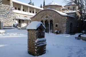 Grécky kláštor.
