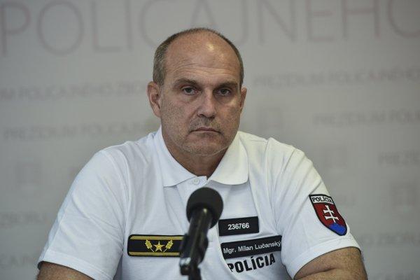 Na snímke súčasný prezident Policajného zboru Milan Lučanský.