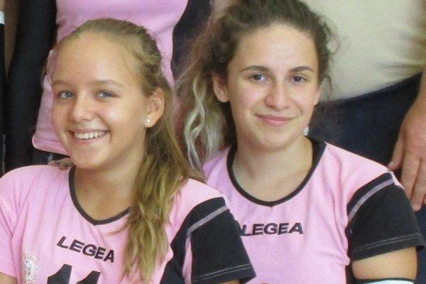 Michaela Randisová (vľavo) trénuje v Hnúšti.