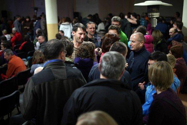 Organizátorov prekvapilo množstvo ľudí, ktorí na festival prišli.