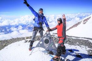 Na vrchole Elbrusu.