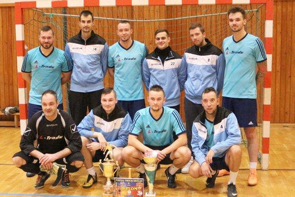 Víťazný tím - L - Trade. Trojkráľový turnaj vyhrali už štrvtý raz.