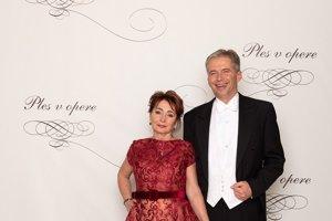 Peter Princ,producent Plesu v opere, agentúra Monarch s manželkou Helenou Princovou