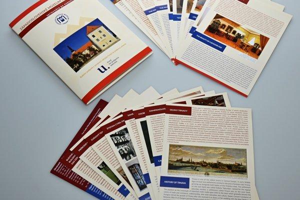 Sprievodca je dostupný aj v angličtine a nemčine.