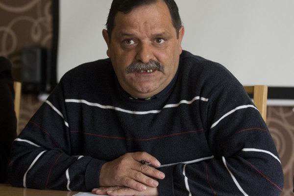 Predseda občianskeho združenia Únia Rómov na Slovensku František Tanko.