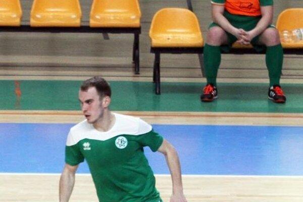 Autor dvoch gólov Novozámčanov Patrik Vašek