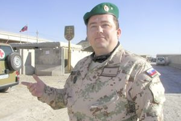 Oliver ToderiškaPovažskobystričan slúži na základni v Kandaháre.