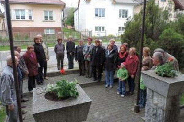 V Závažnej Porube si uctili pamiatku padlých v druhej svetovej vojne.