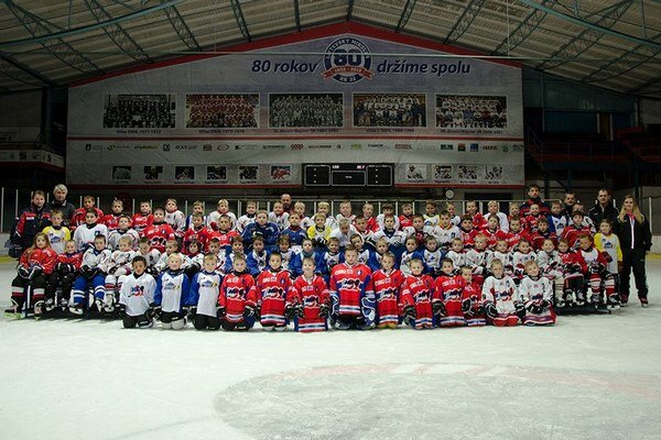 Mladé hokejové nádeje.