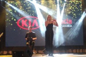 Na odovzdávaní filantropických cien vystúpila Emma Drobná.
