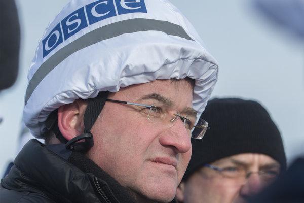 Minister zahraničných vecí a európskych záležitostí SR a úradujci predseda Organizácie pre bezpečnosť a spoluprácu v Európe (OBSE) Miroslav Lajčák.
