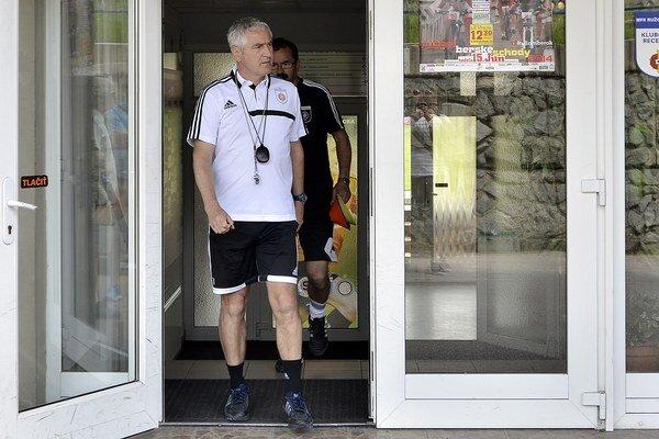 Staronový tréner Ladislav Šimčo.