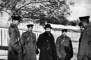 Mendel Bejlis počas procesu, ktorý režírovala ruská krajná pravica.