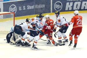 Košickí hokejisti si proti Miškovcu pripísali prvú výhru v novom roku na domácom ľade.