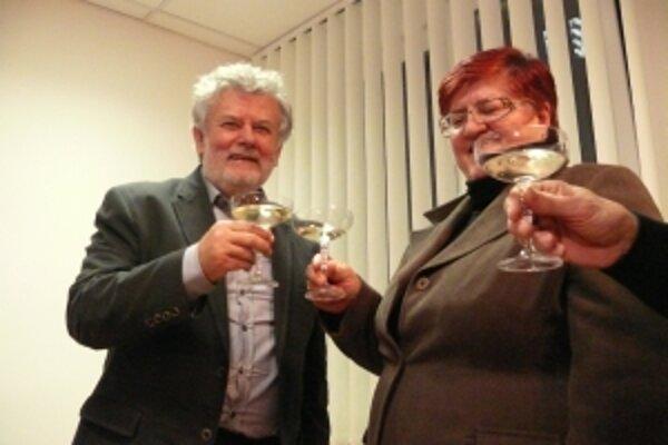 Víťazstvo oslávil Pavol Sedláček šampanským.