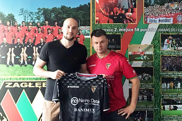 Lukáš Hroššo je novou posilou poľského prvoligového klubu.
