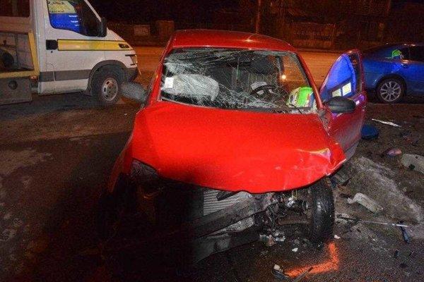 Nehoda v Barci, vodič po nej nafúkal.