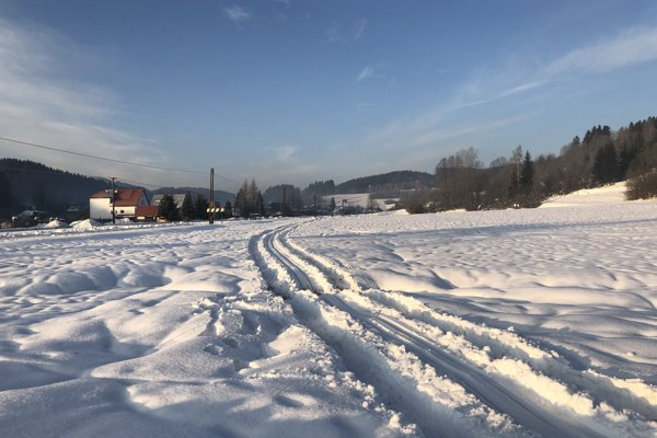 Bežkársky okruh vo Vysokej nad Kysucou.