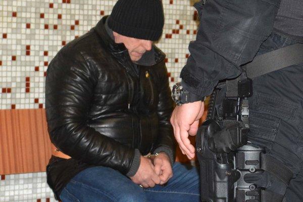 Vladimír na košickom súde.