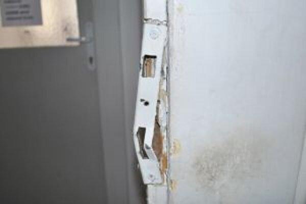 Pätnásťročný chlapec s troma maloletými vylomili dvere.
