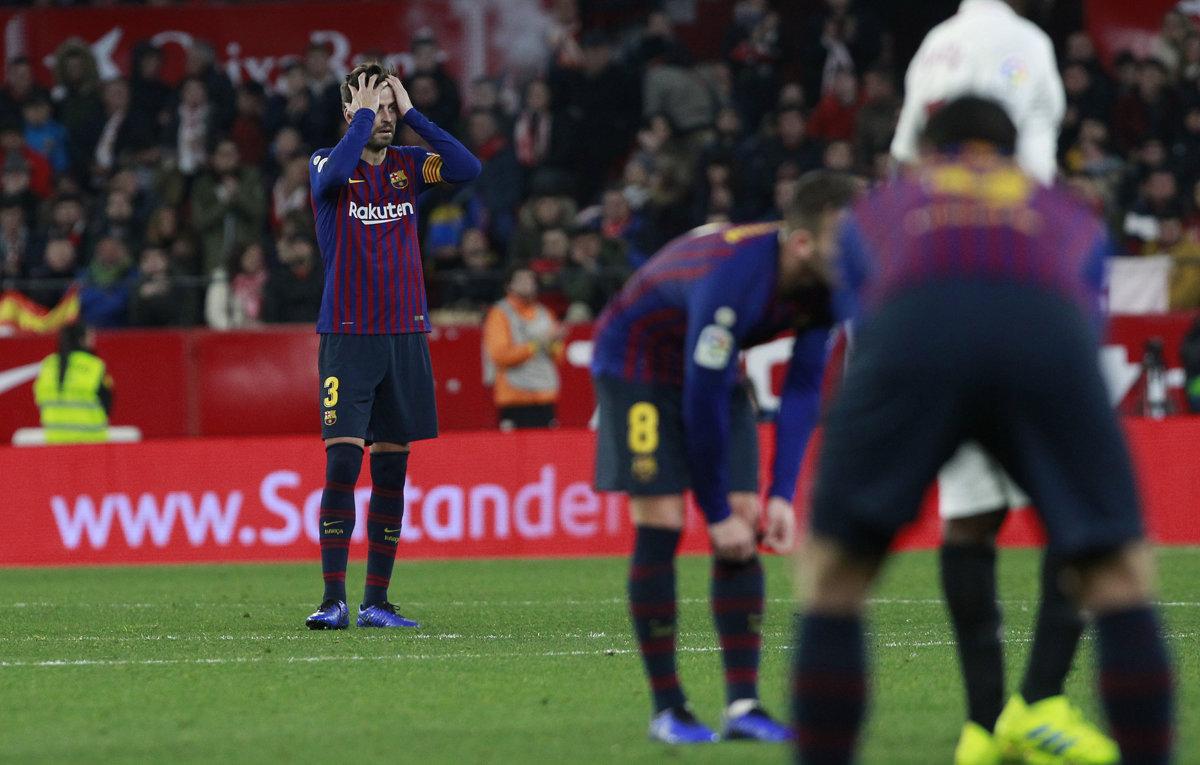 bc85977ee41ef FC Sevilla zdolala FC Barcelona v Copa del Rey 2018/19 - Šport SME