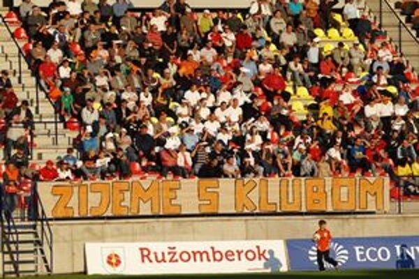Domáci fanúšikovia odchádzali zo sobotného zápasu sklamaní.