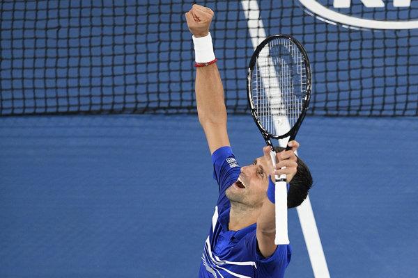 Novak Djokovič je vo finále.