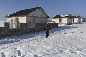Novopostavené domy v Rankovciach.