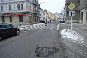 Jarková ulica by mala čoskoro zmeniť svoju podobu.