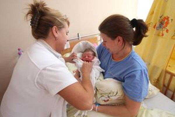 Spokojné mamičky ohodnotili ružomberskú pôrodnicu ako druhú najlepšiu a získala strieborný certifikát.