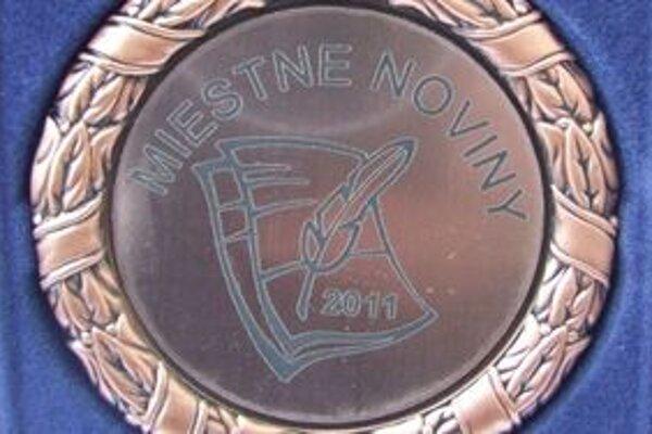 Bronzovú medailu získali aj Porubské noviny.