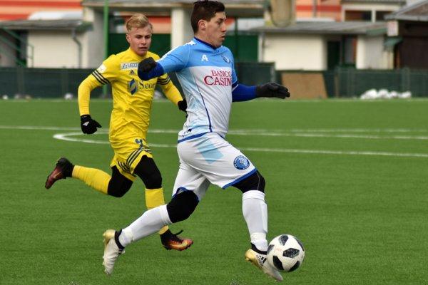Ofenzívu Slavoja vystužil aj Patrik Zajac z Lokomotívy Košice.