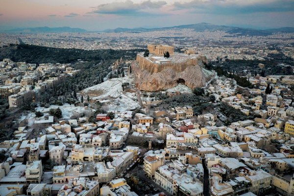 Atény.