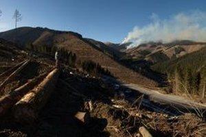 Dnes sa požiar hasičom podarilo čiastočne stabilizovať.
