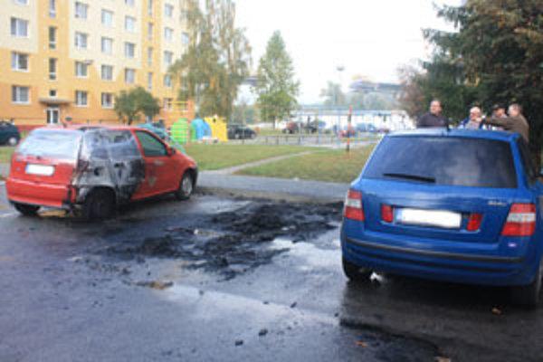 Fotografia bola vyhotovená niekoľko hodín po požiari.