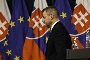 Predseda vlády Peter Pellegrini.