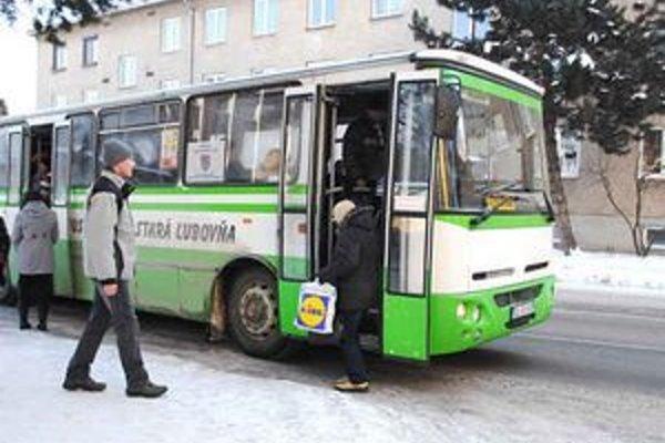 Mestská doprava v Starej Ľubovni.
