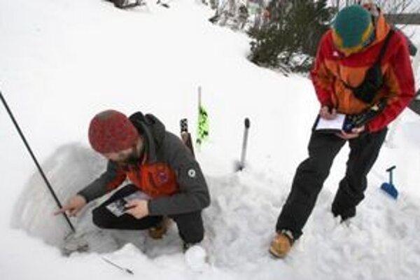 Špecialistov zaujíma, ako sa vyvinuli snehové podmienky