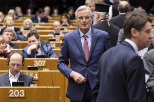 Vyjednávač Únie pre brexit Michel Barnier.