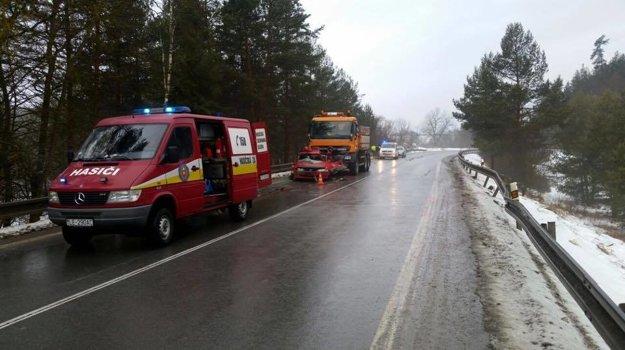 Ranná nehoda pri Spišskom Hrhove.