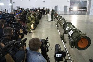Rusi tvrdia, že nová strela s plochou dráhou letu zmluvu INF neporušuje.