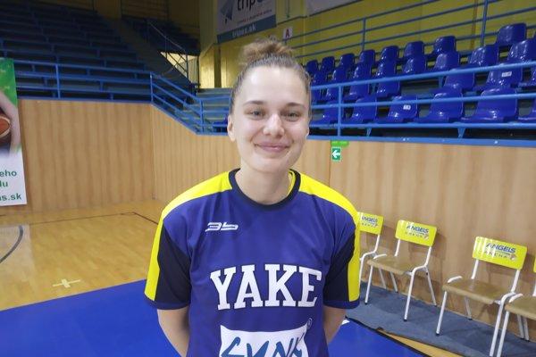 Vanda Kozáková zaznamenala proti Šamorínu 14 bodov.