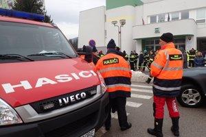 Prišli dobrovoľní hasiči z desiatich zborov.