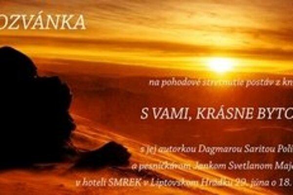 Autorom fotografii na obálke knihy aj na pozvánke na stretnutie postáv z knihy je Jaro Janovčík, fotograf z Podtúrne. Na fotografii je Slnko nad Ďumbierom.