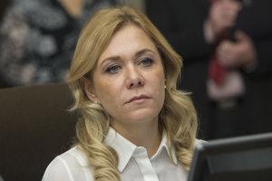 Ministerka Denisa Saková