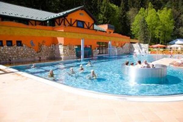 Aqua-Vital park v Lúčkach.